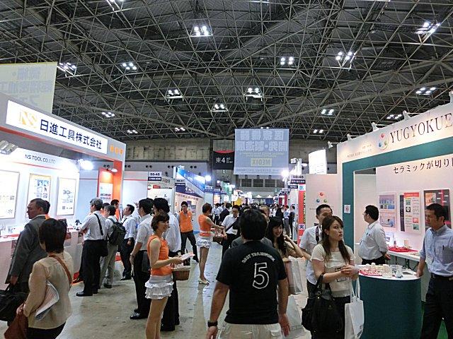 医療機器開発・製造展会場です。
