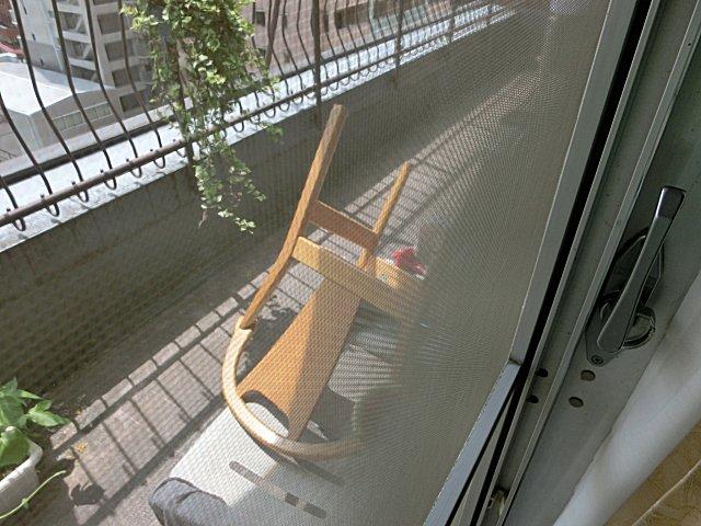 椅子を整備しました。