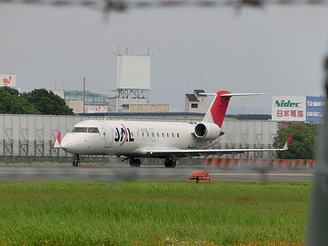 JALのCRJ200です。
