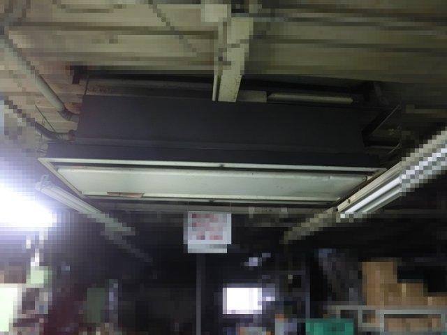 ダメになってきた天井吊りエアコン。