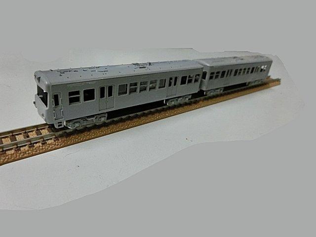 やっとNゲージ鉄道模型らしくなりました。