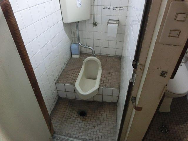 永らく使った和式トイレです。