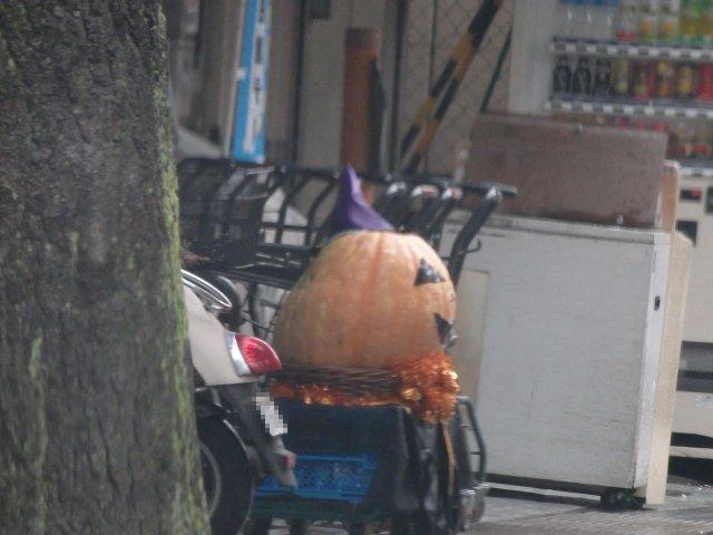 ハロウィンのかぼちゃです。