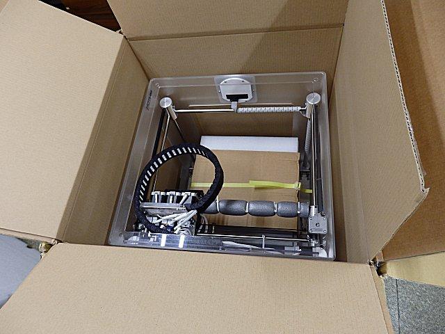 3Dプリンター・CubeXが届きました。