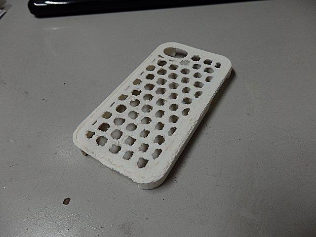 3Dプリンター第1号は不出来な仕上がりでした。