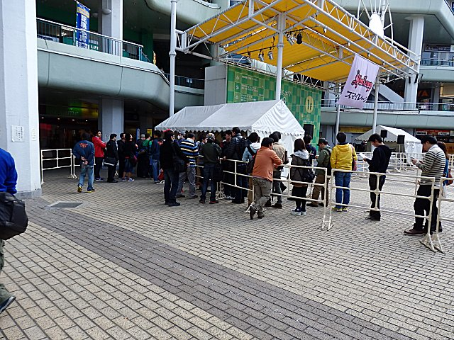 スマイレージのミニライブ会場です。
