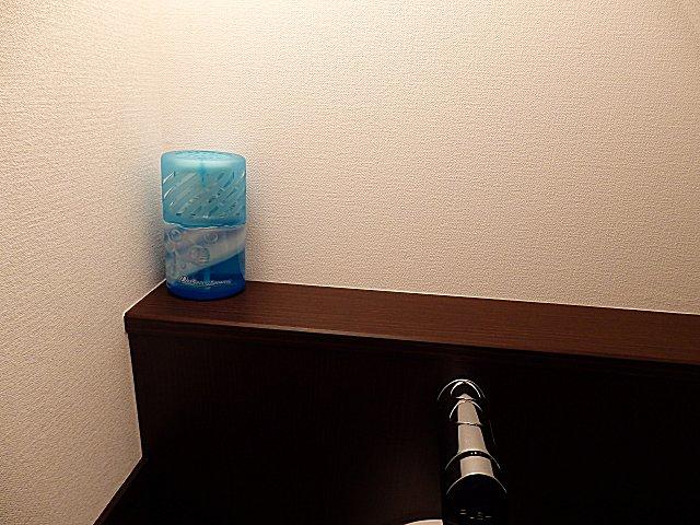 トイレの置物は最小限に、そしてシンプルに。