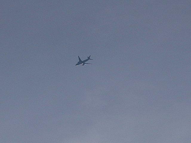こちらは離陸機です。