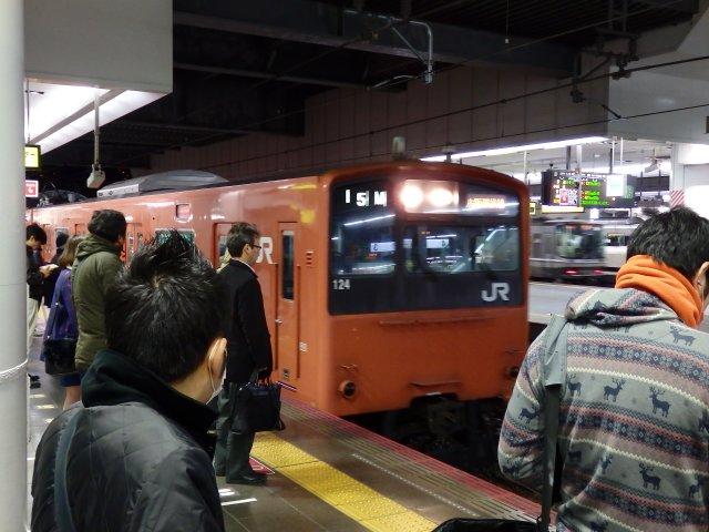 201系更新車(大阪)。