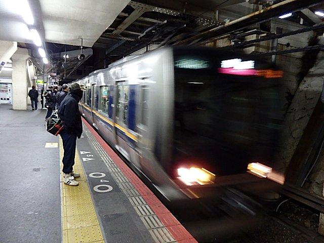 往きは321系(京橋)。