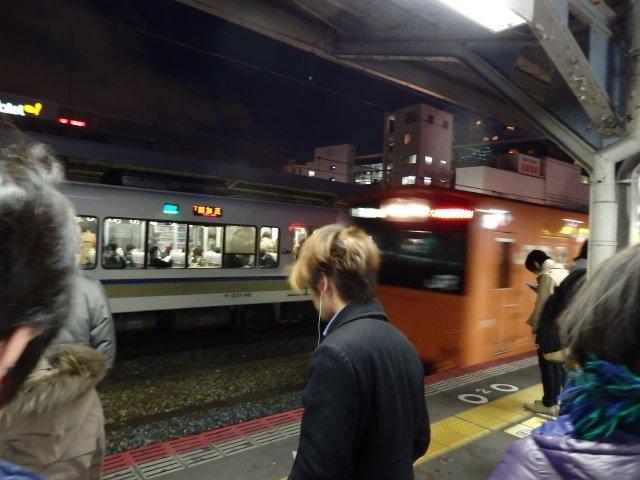再び201系(京橋)。