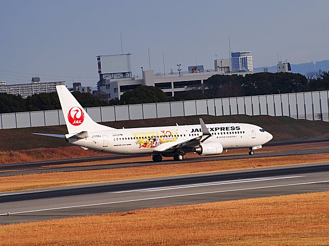JAL・B737−800ハピネスです。