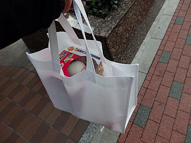 グルメシティで貰ったエコバッグです。