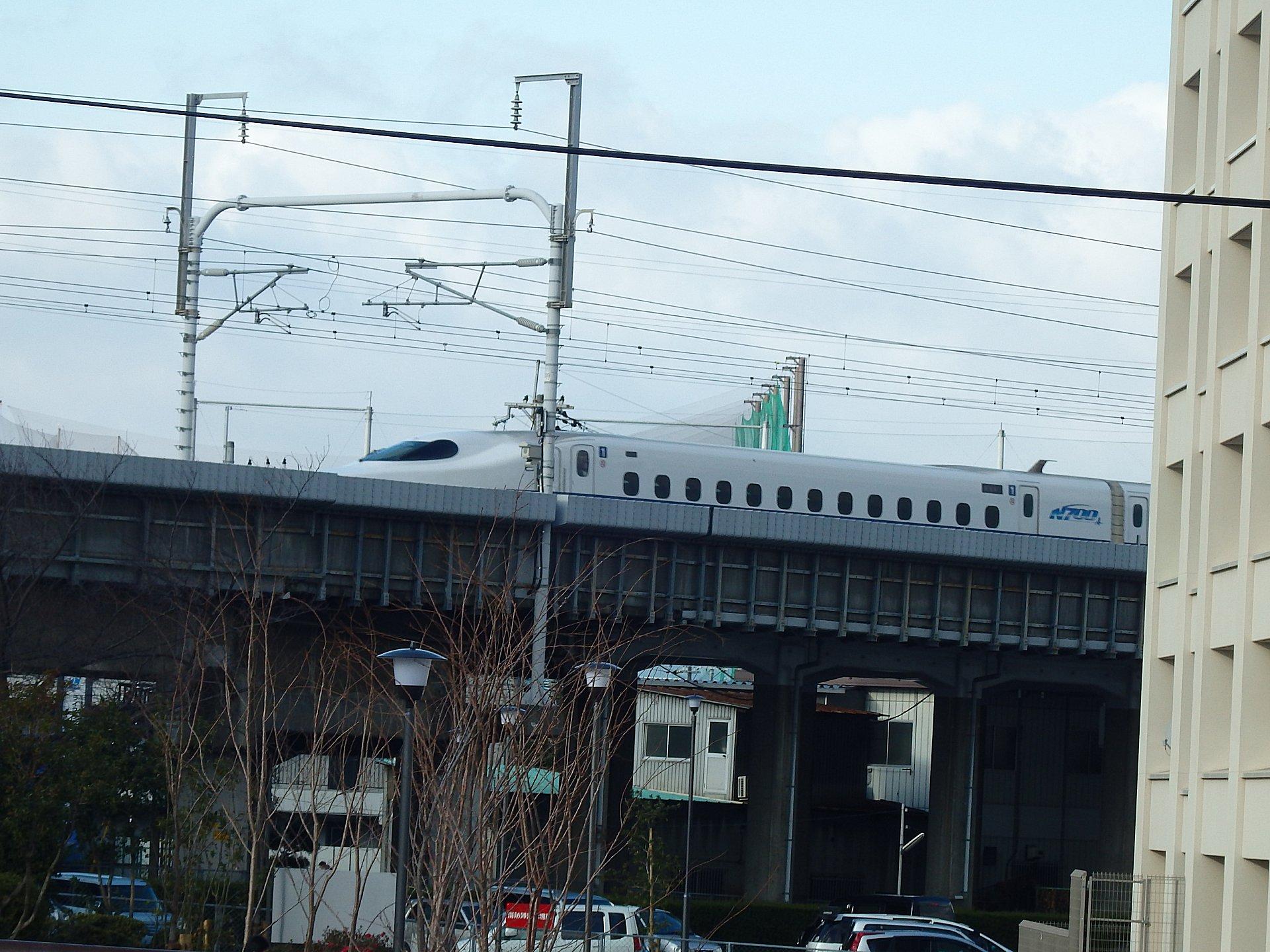 N700プラスA系新幹線です。