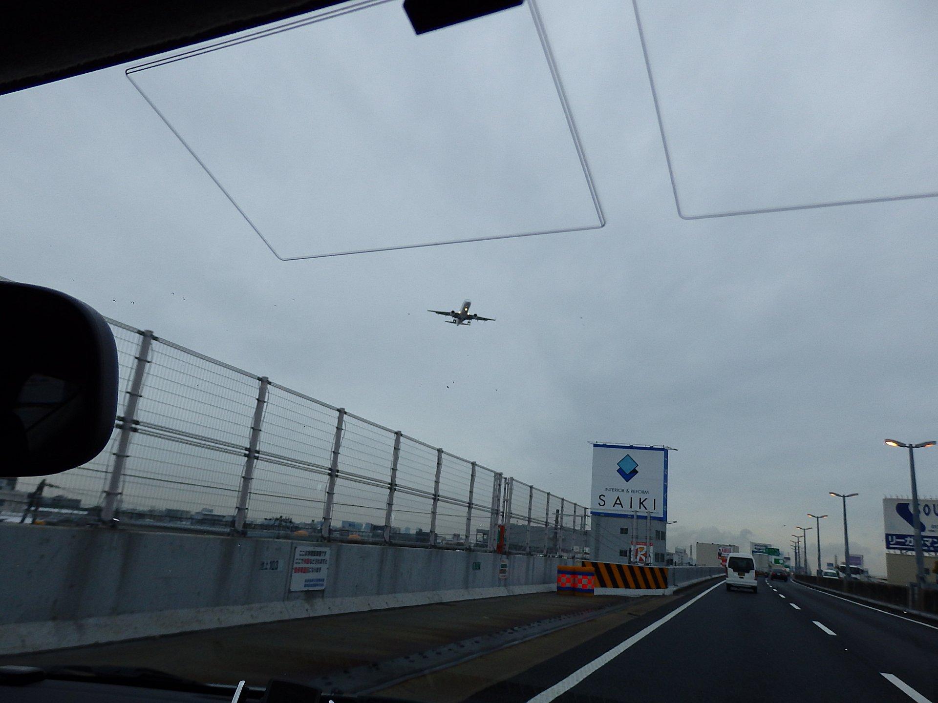 帰りの阪神高速からのショットです。
