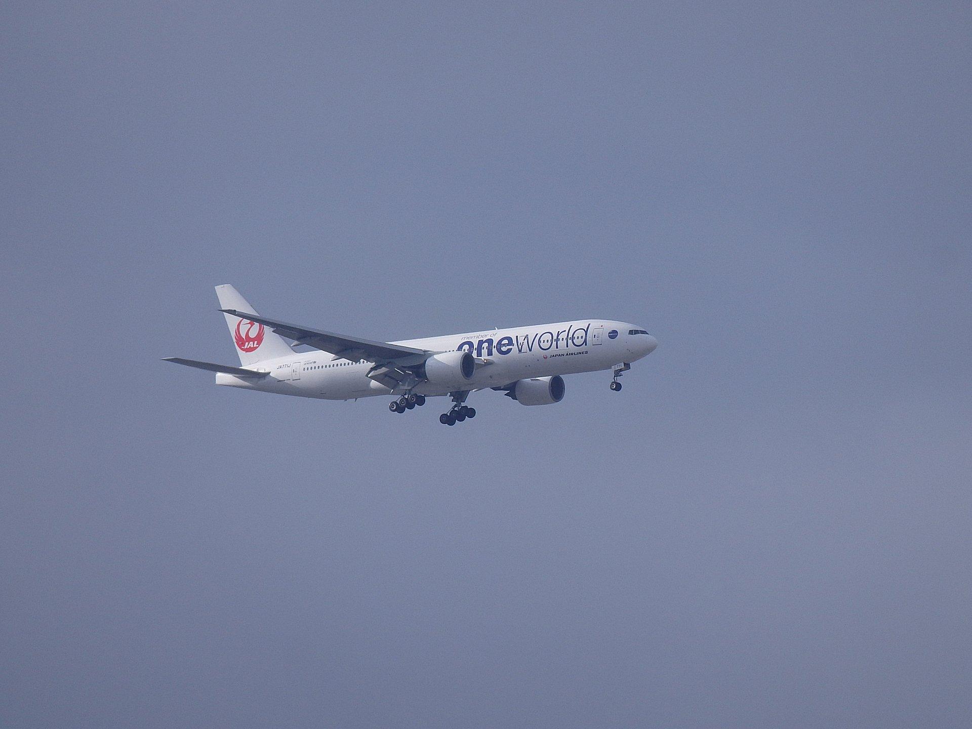 JAL OneWorld B777-246(JA771J)です。