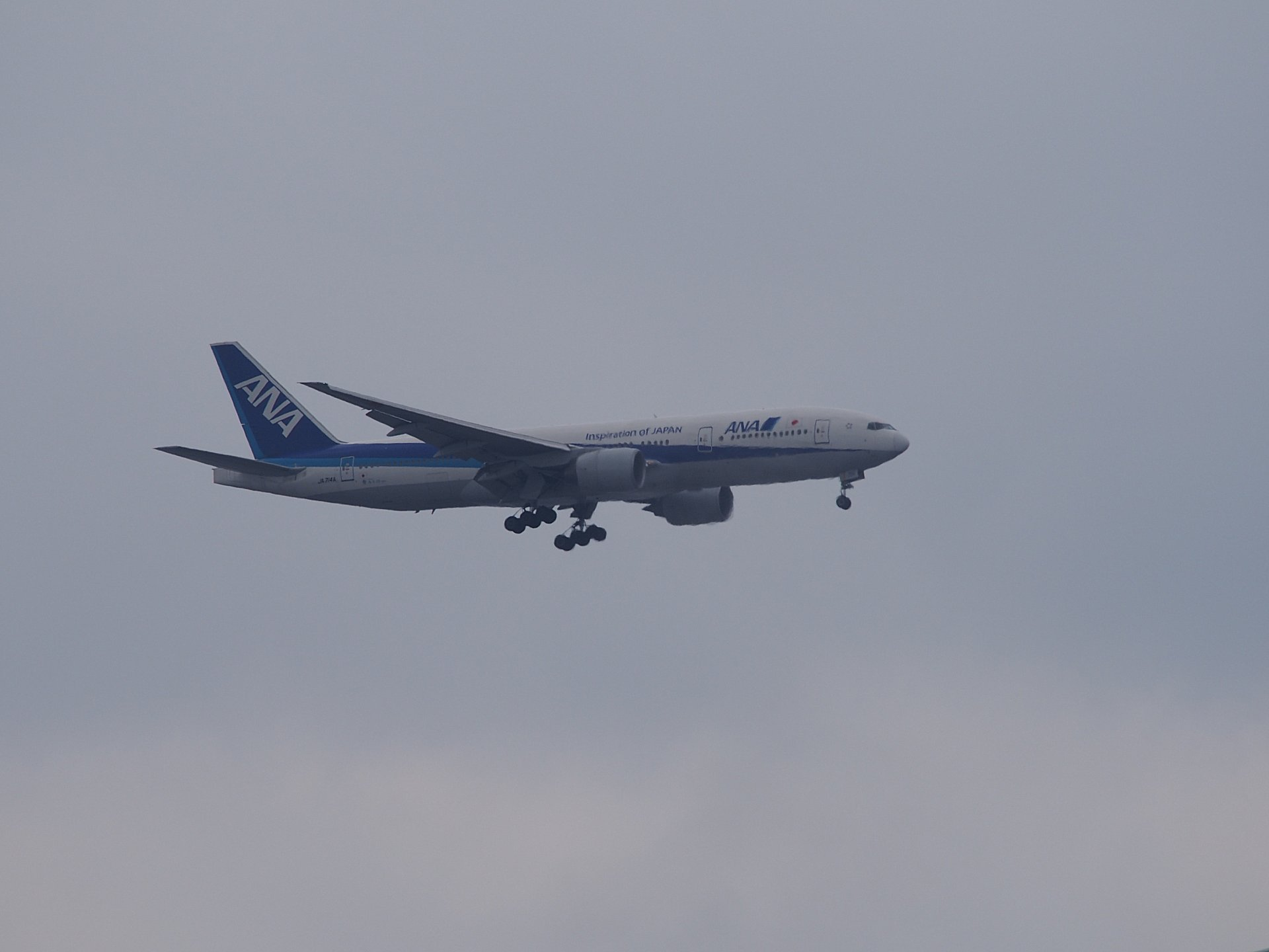 主力機B777−200です。
