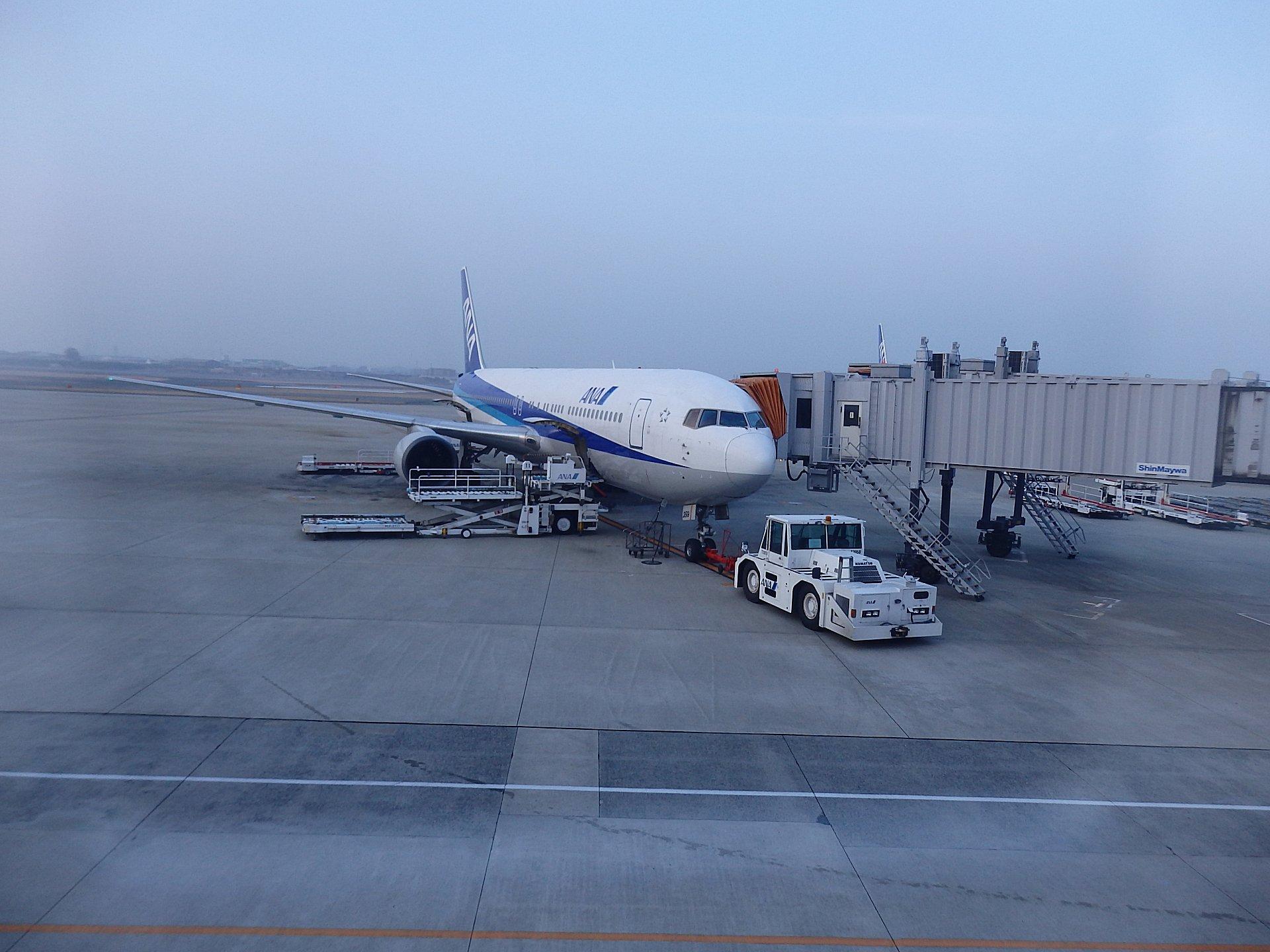 ANA014便に搭乗しました。