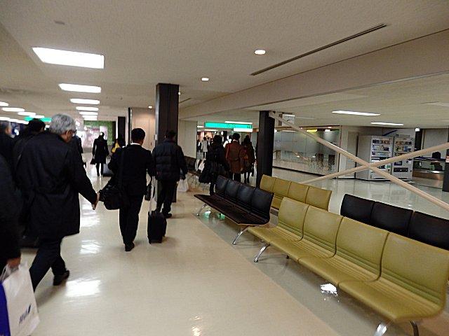 無事に帰阪しました。