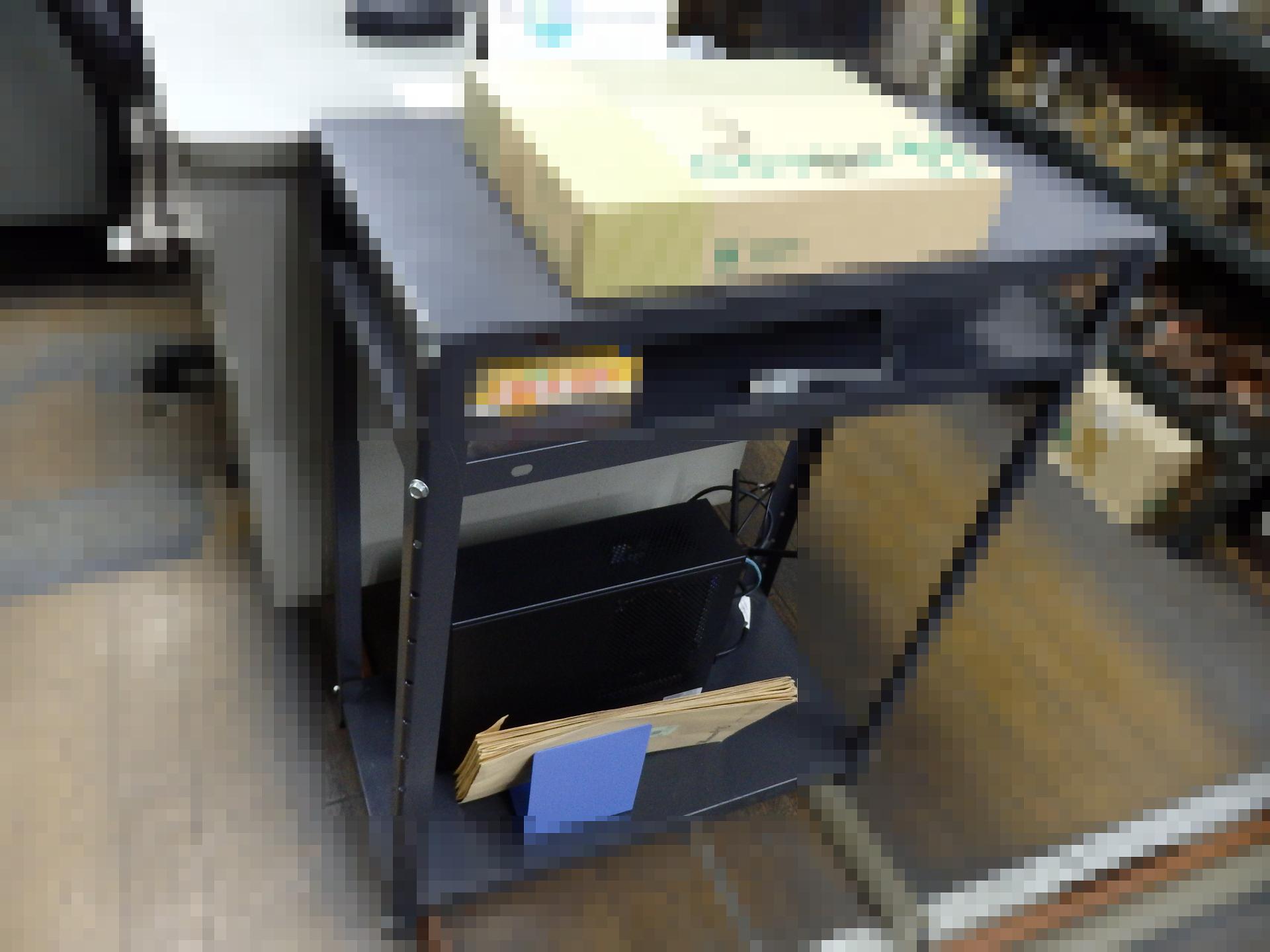 一般事務用PCを試験設置しました。