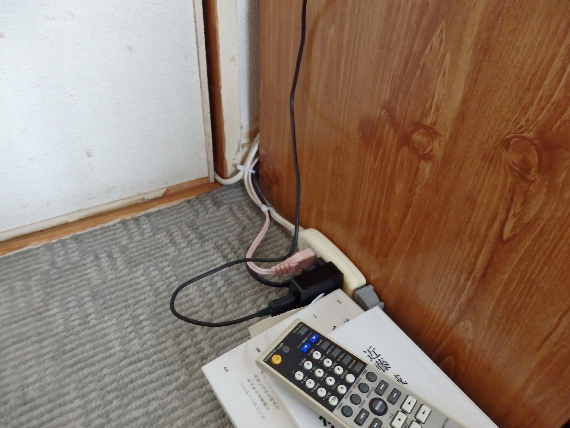 電線は鬱陶しいです。