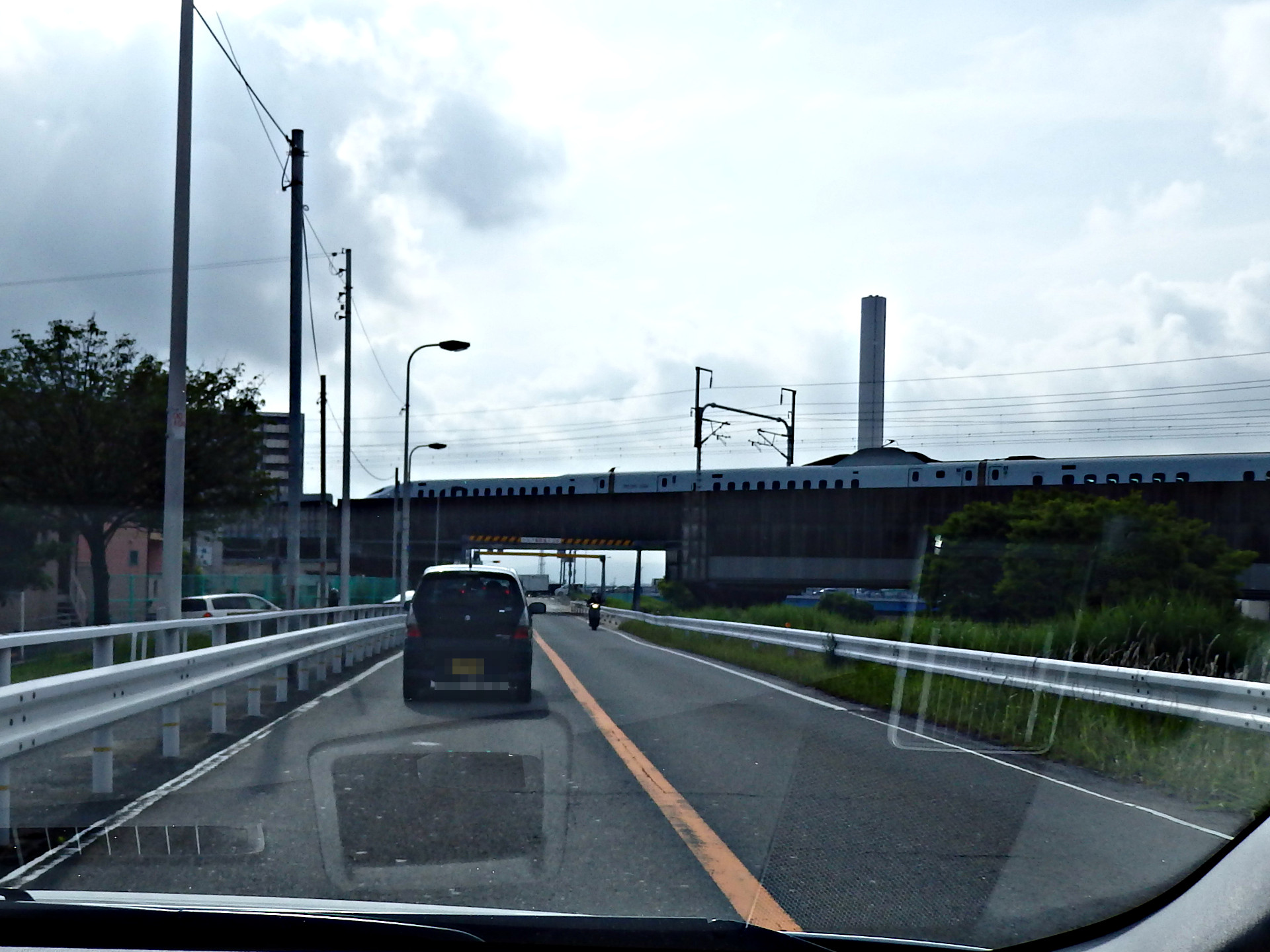みずほ・さくら用新幹線車両です。