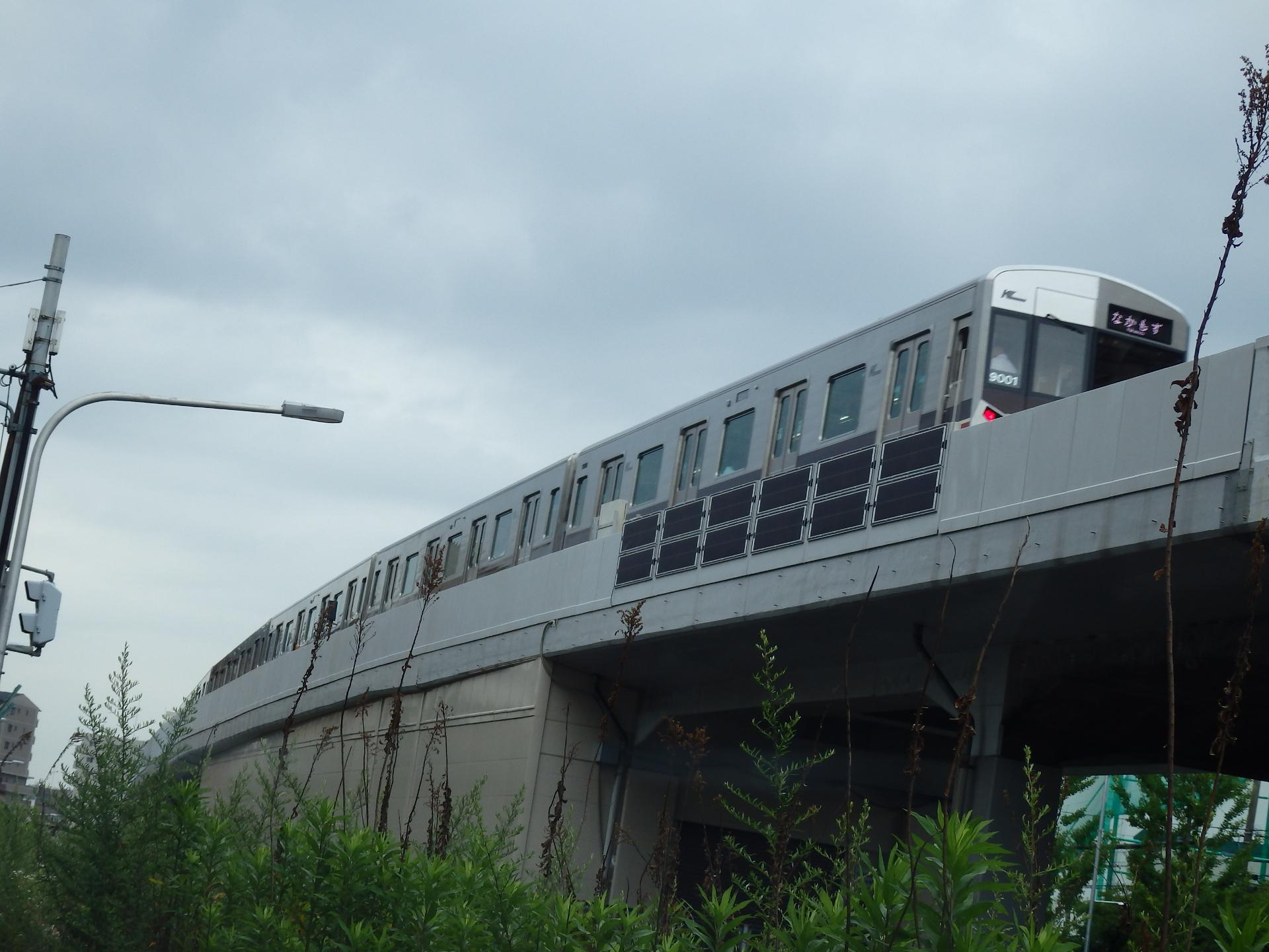 北大阪急行9000系「ポールスター2」です。