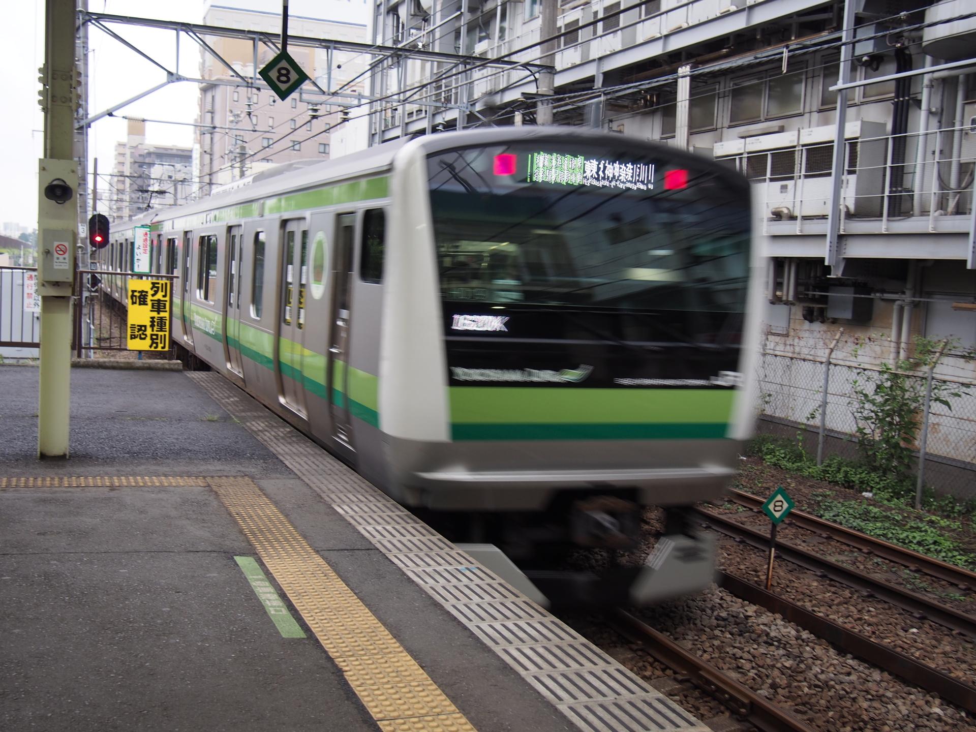 E233系6000番台です。