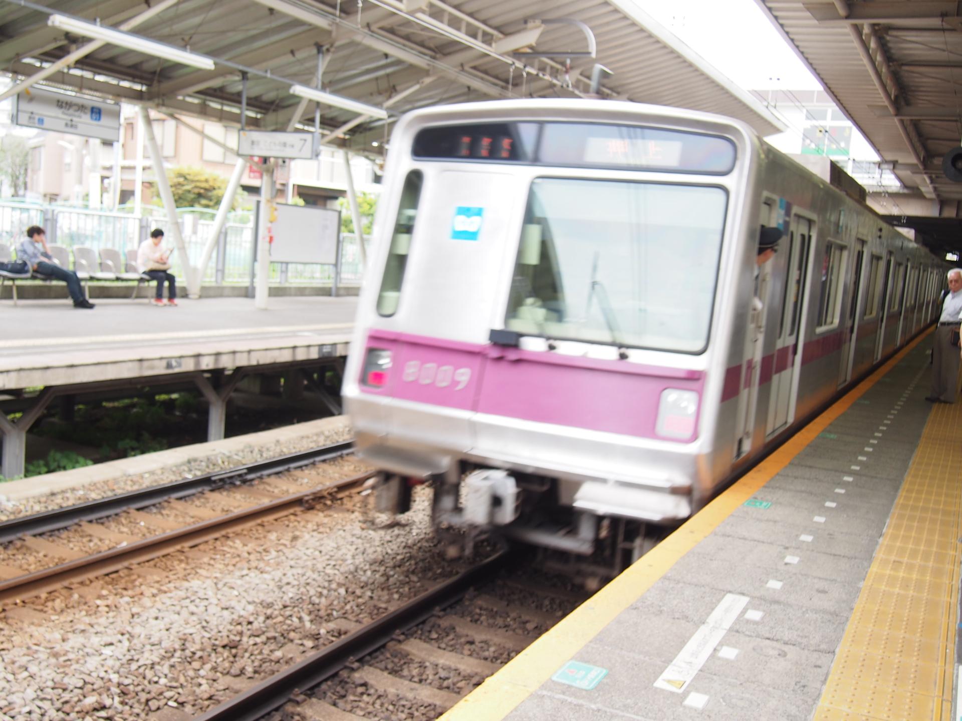 東京メトロ・半蔵門線の8000系です。