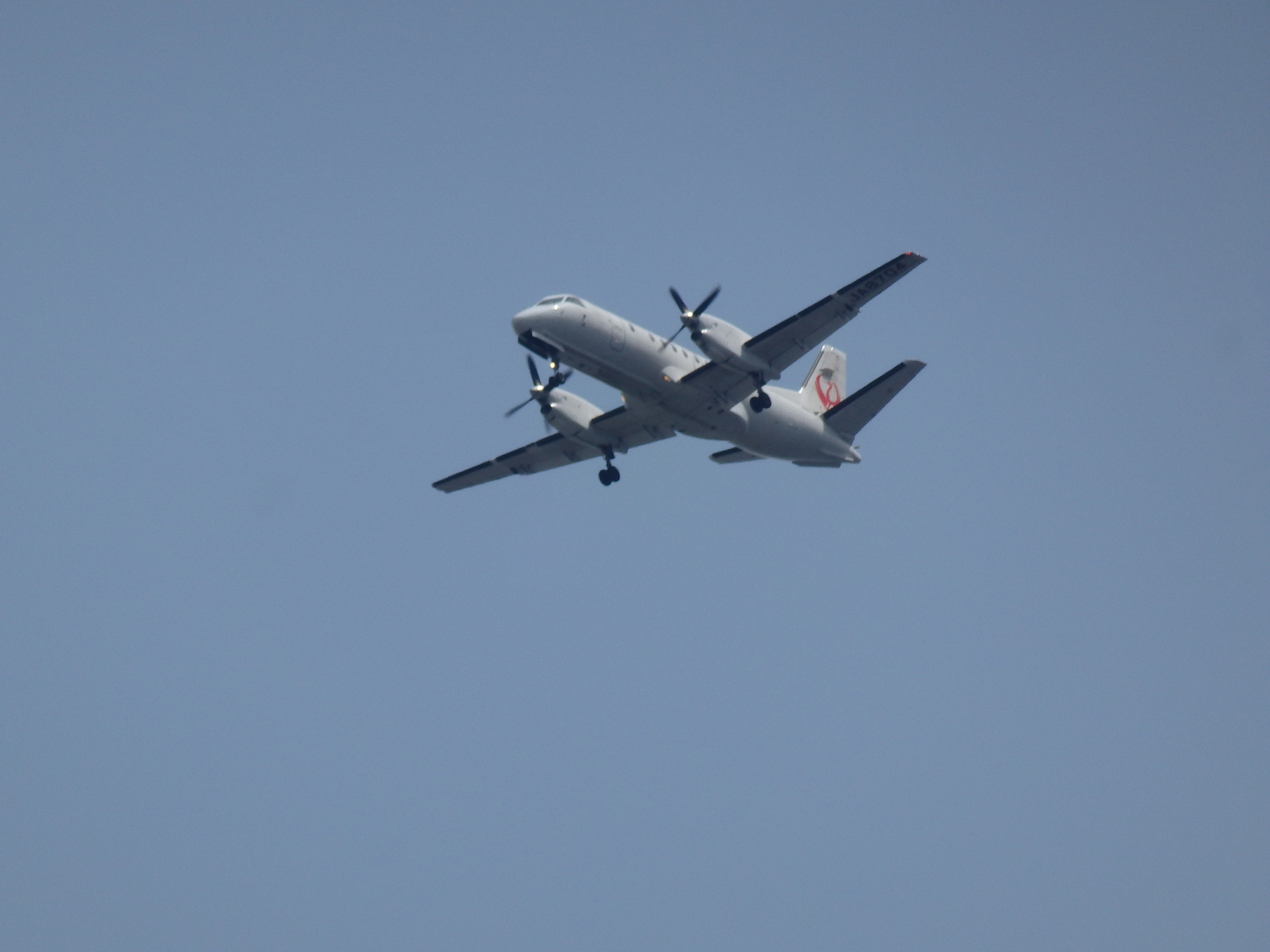 JA8704機です。