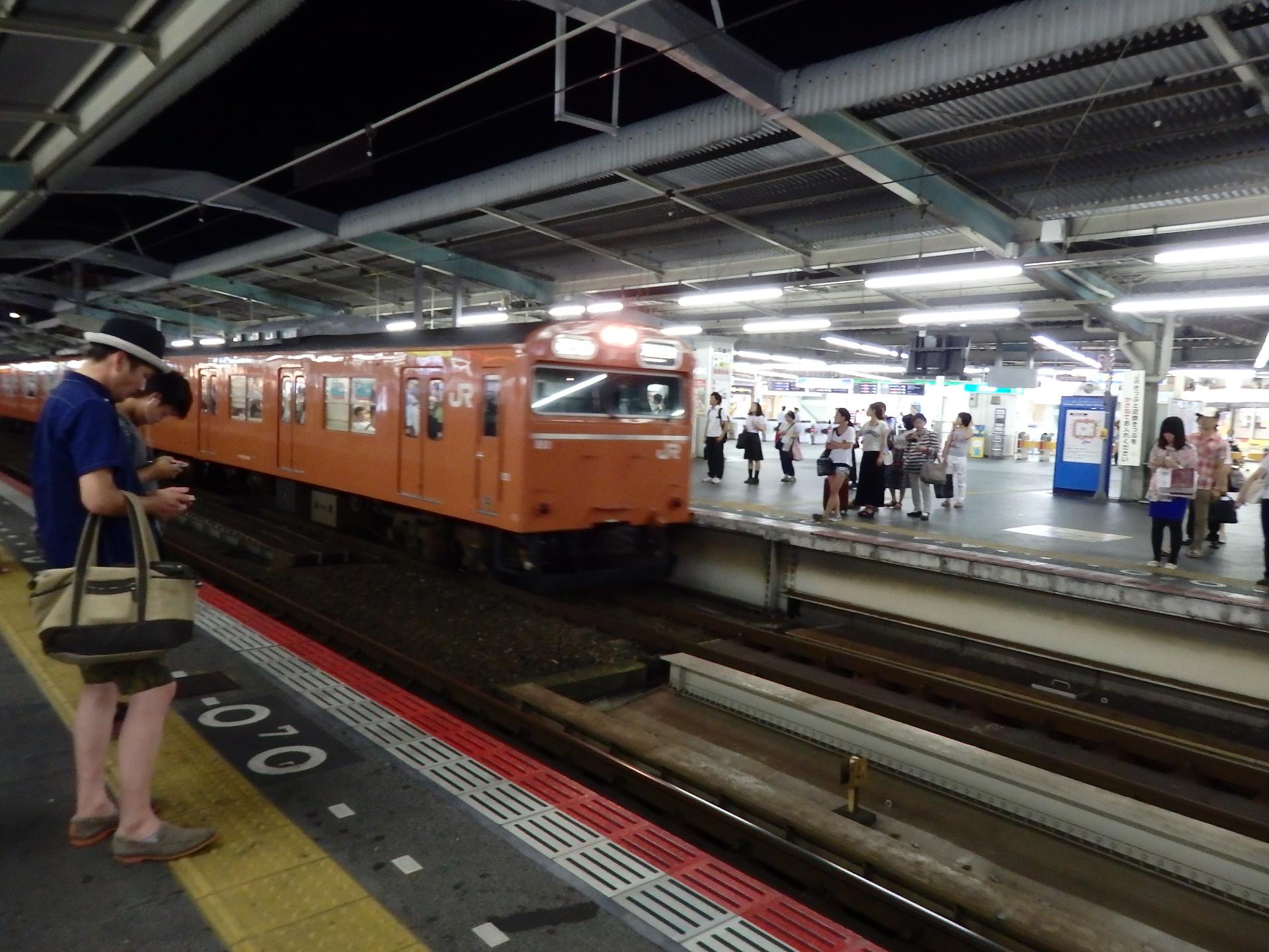 鶴橋駅です。