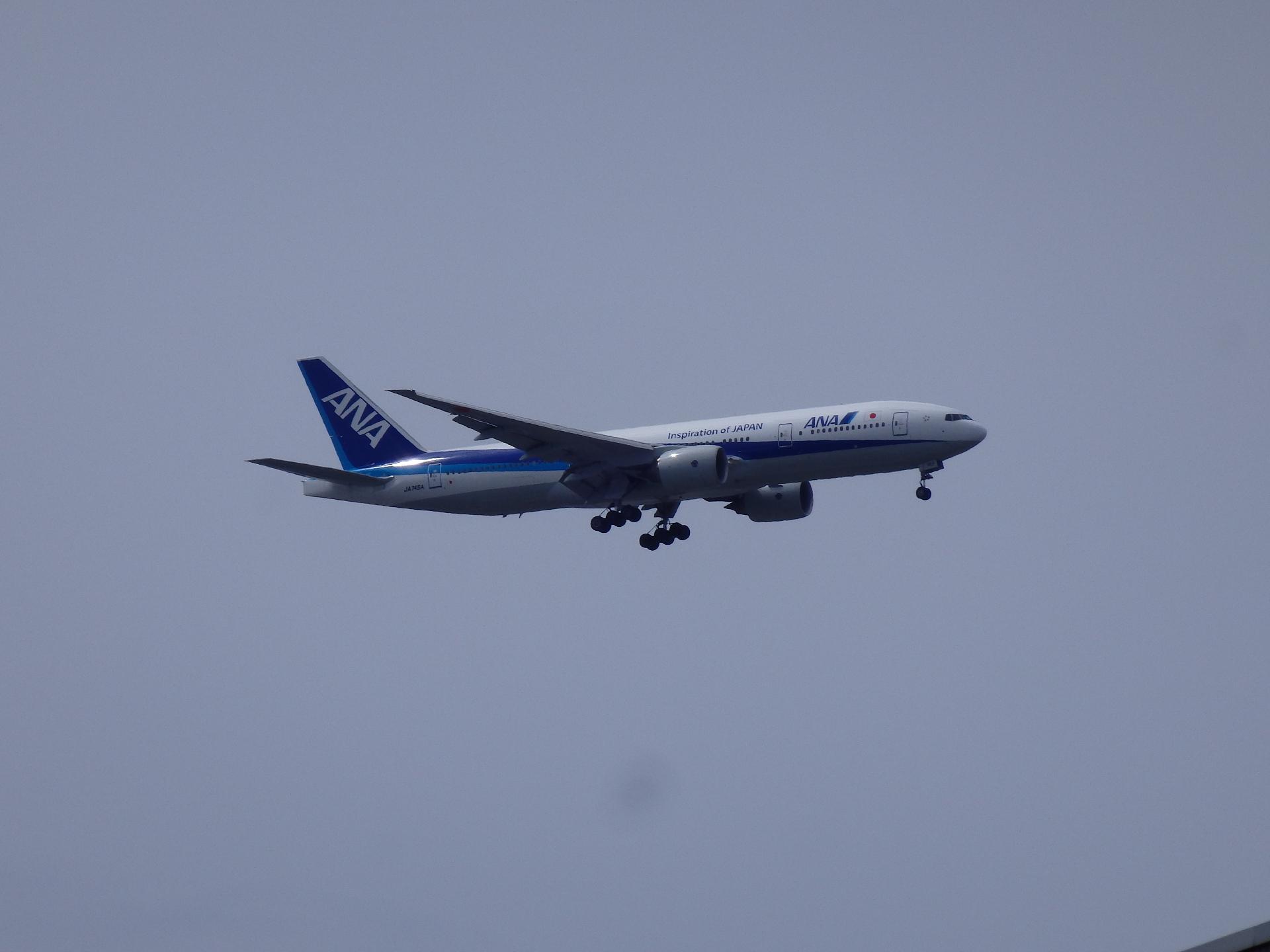 JA745A機です。