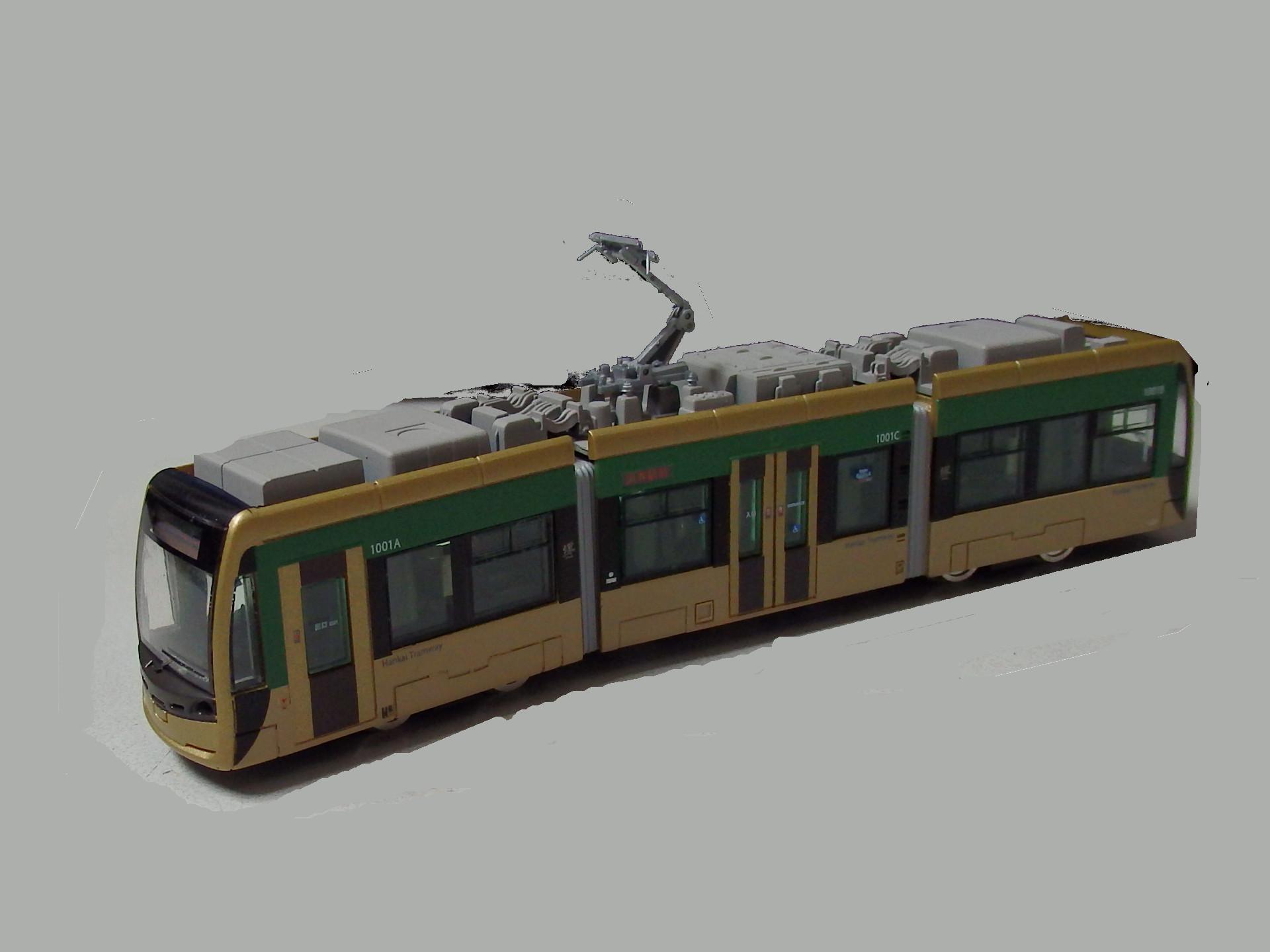 鉄コレの堺トラムです。