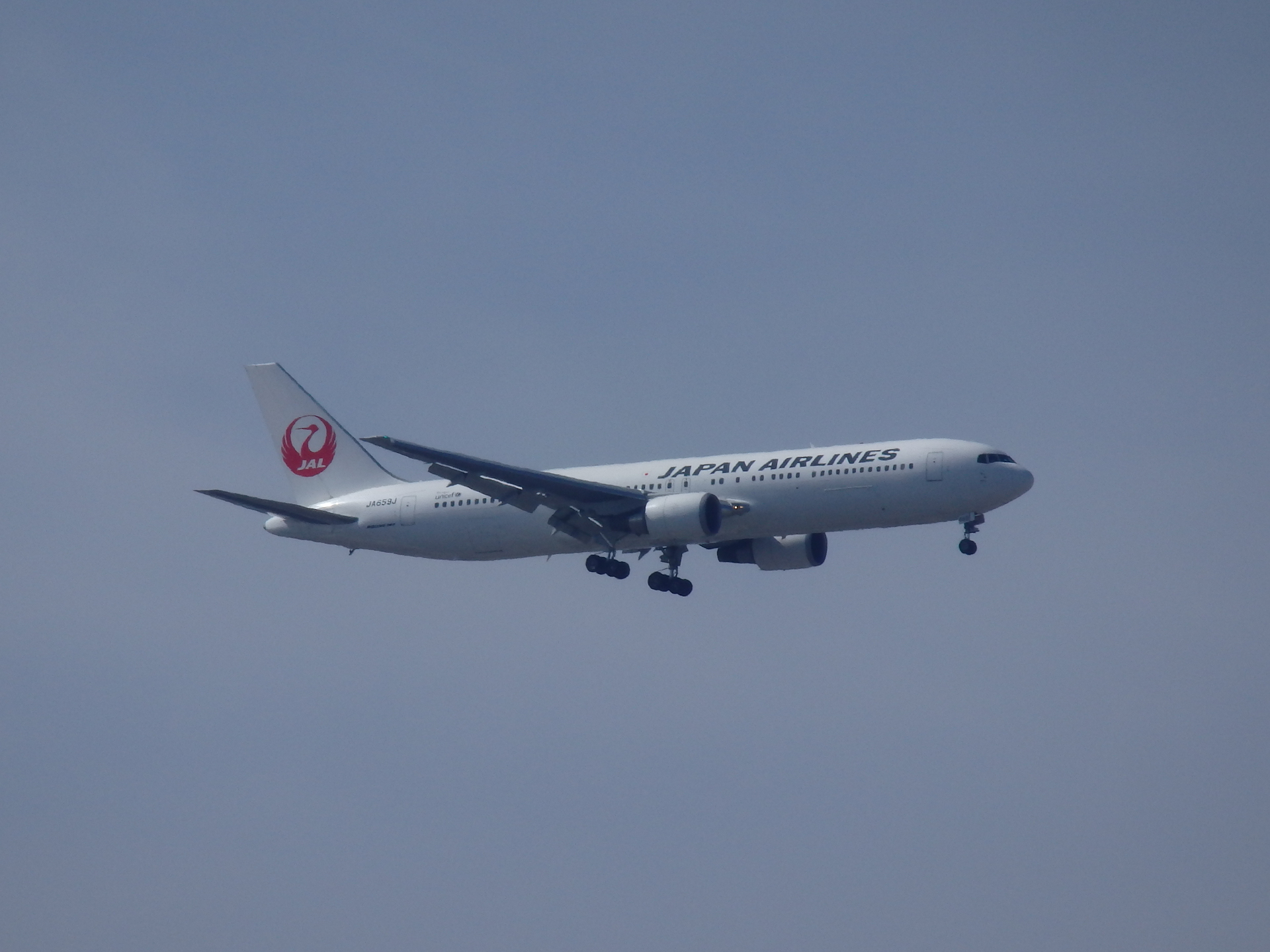 JA659J機です。