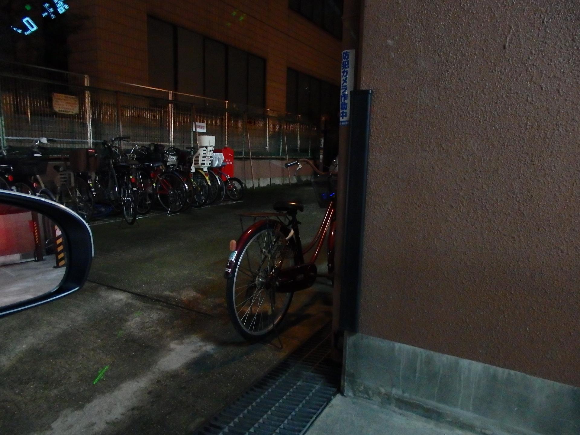 自転車のマナーが悪いです。