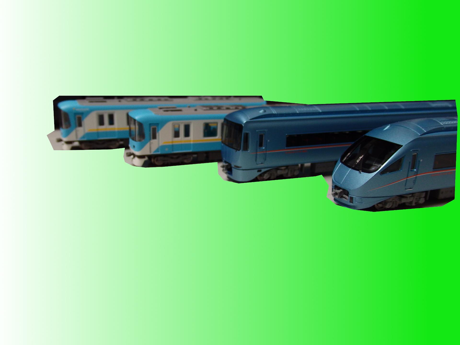 マイクロエースの小田急60000形MSE(基本・増結)と京阪京津線800系2種を買いました。