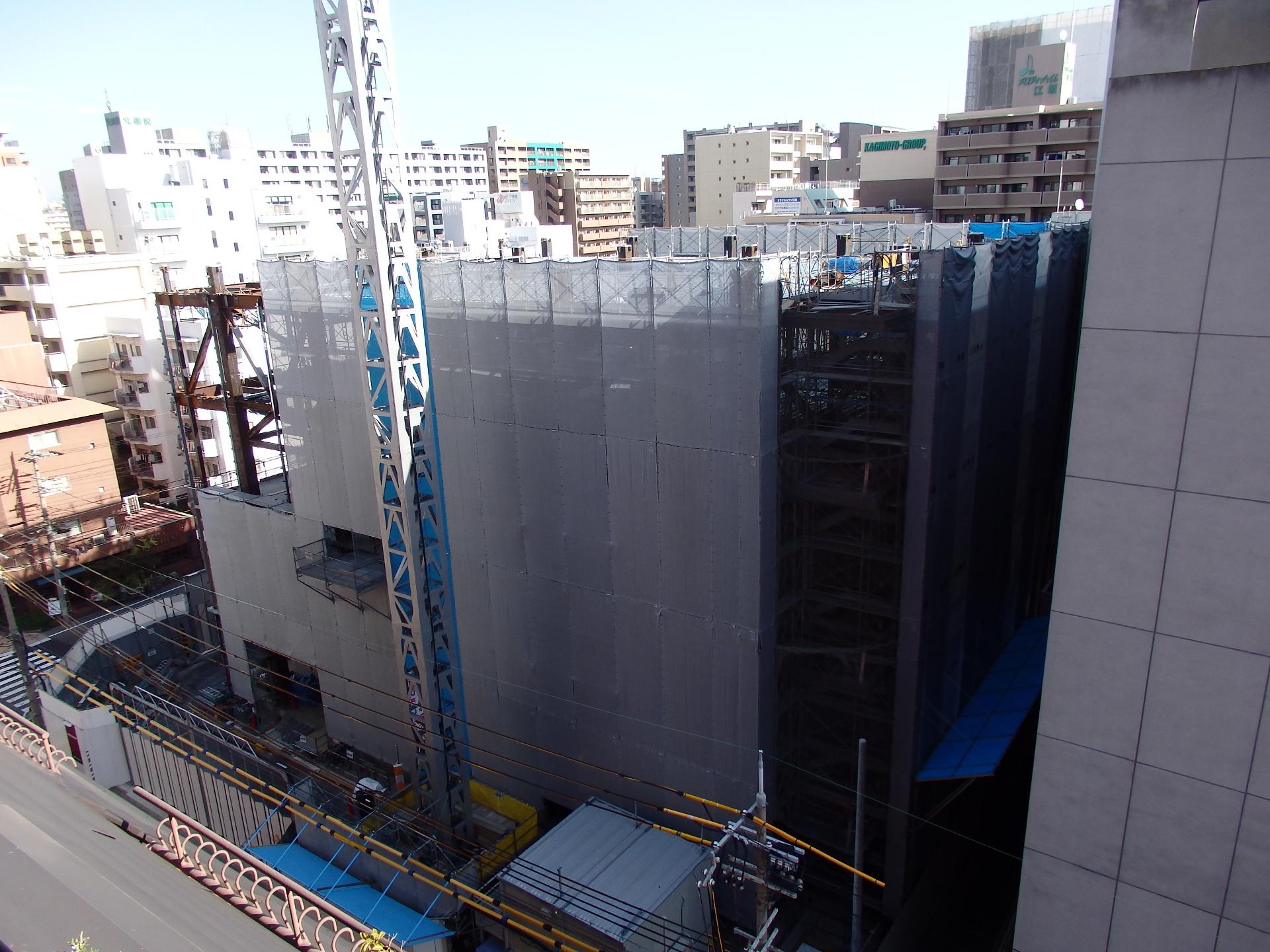 沢井製薬大阪研究所の建設現場です。