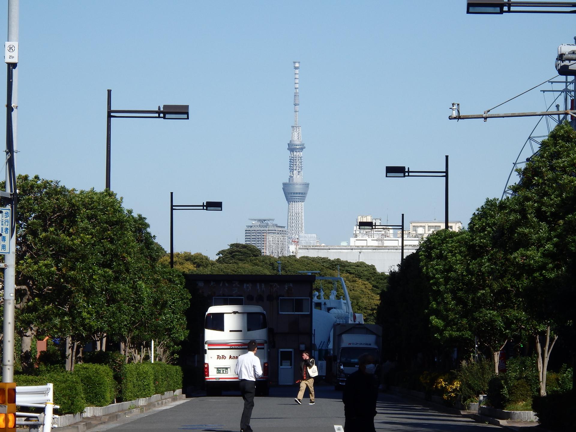 東京スカイツリーです。