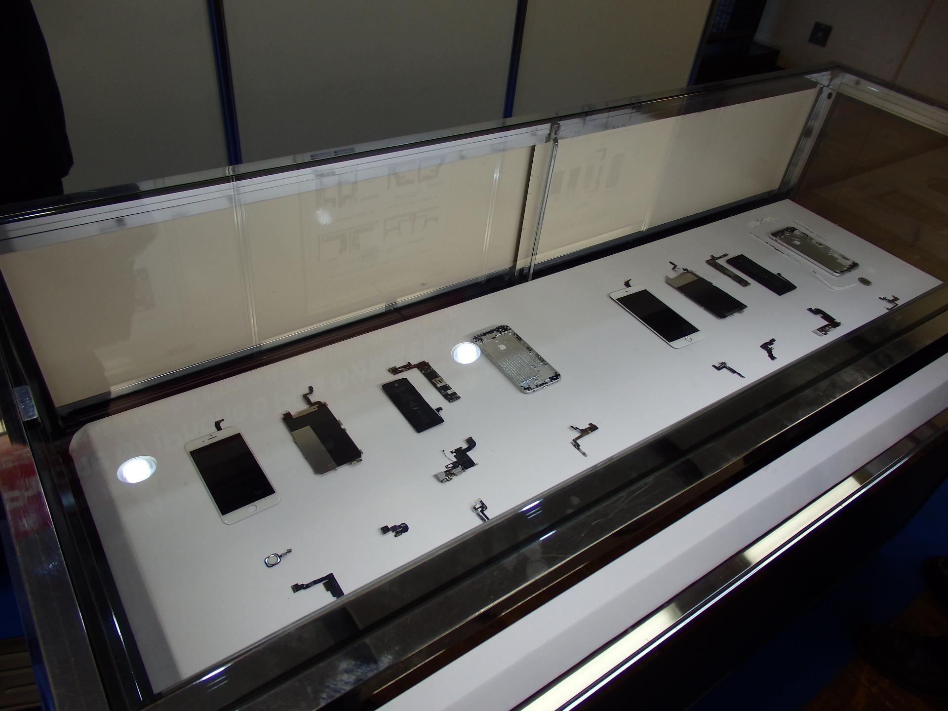 iPhone6とiPhone6プラスの分解サンプルです。