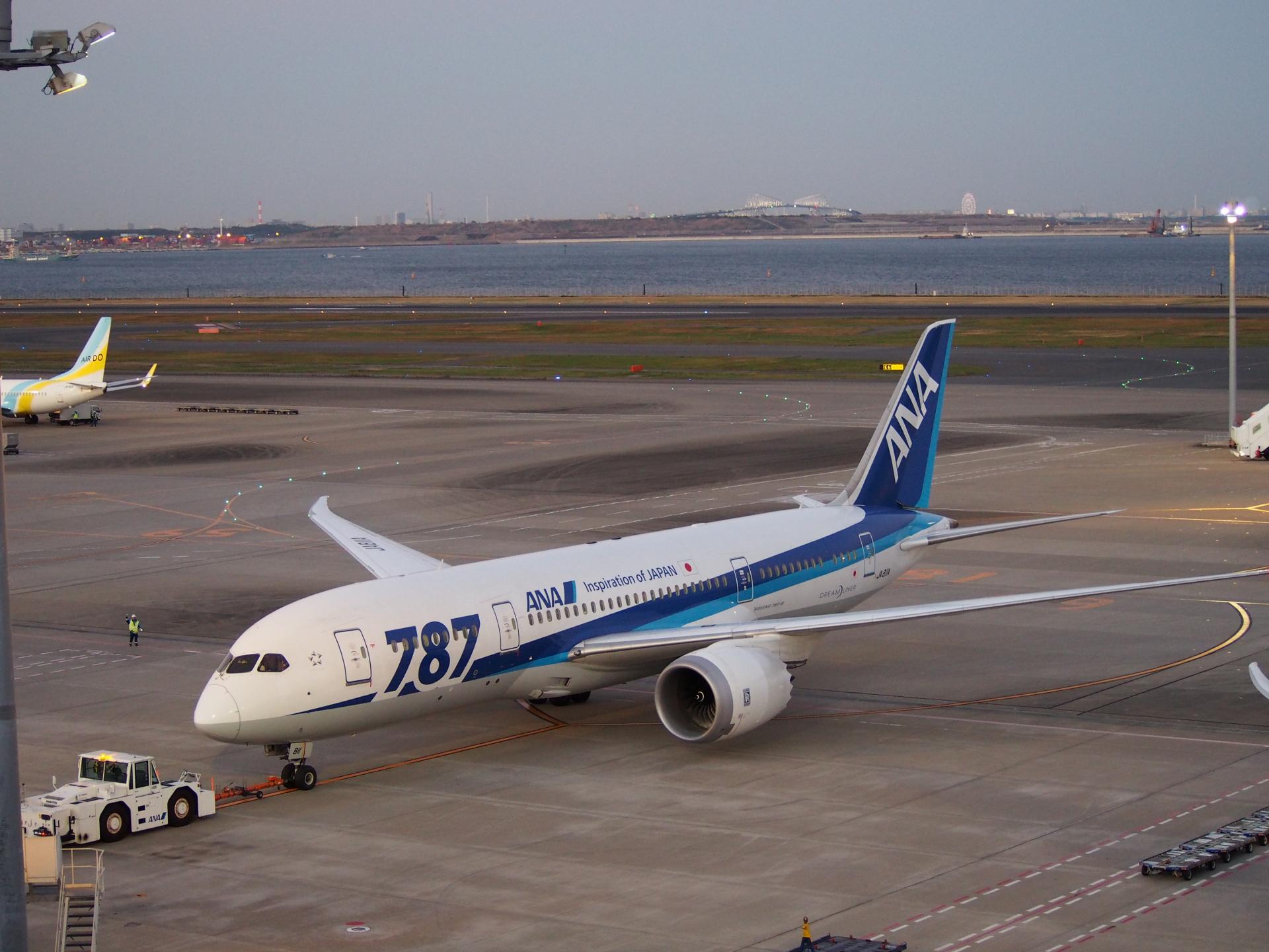 私の初搭乗(JA811A)です。