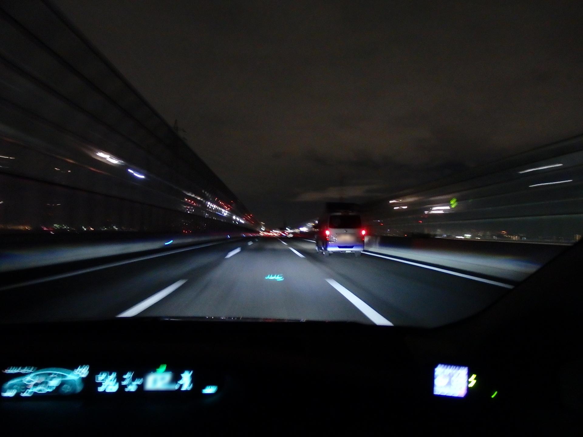 久々に高速を使いました。