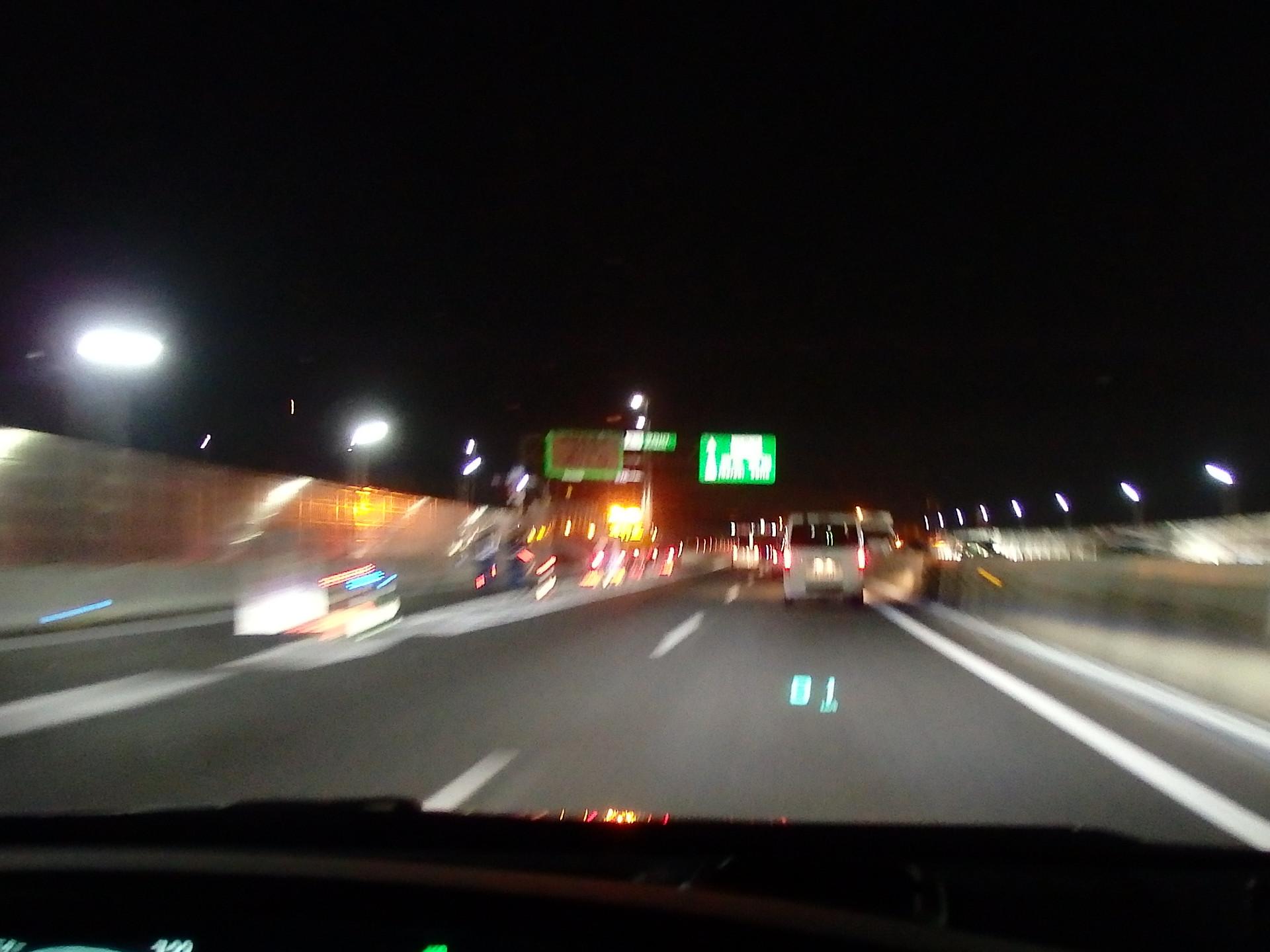 阪神高速守口線が全線工事通行止め。