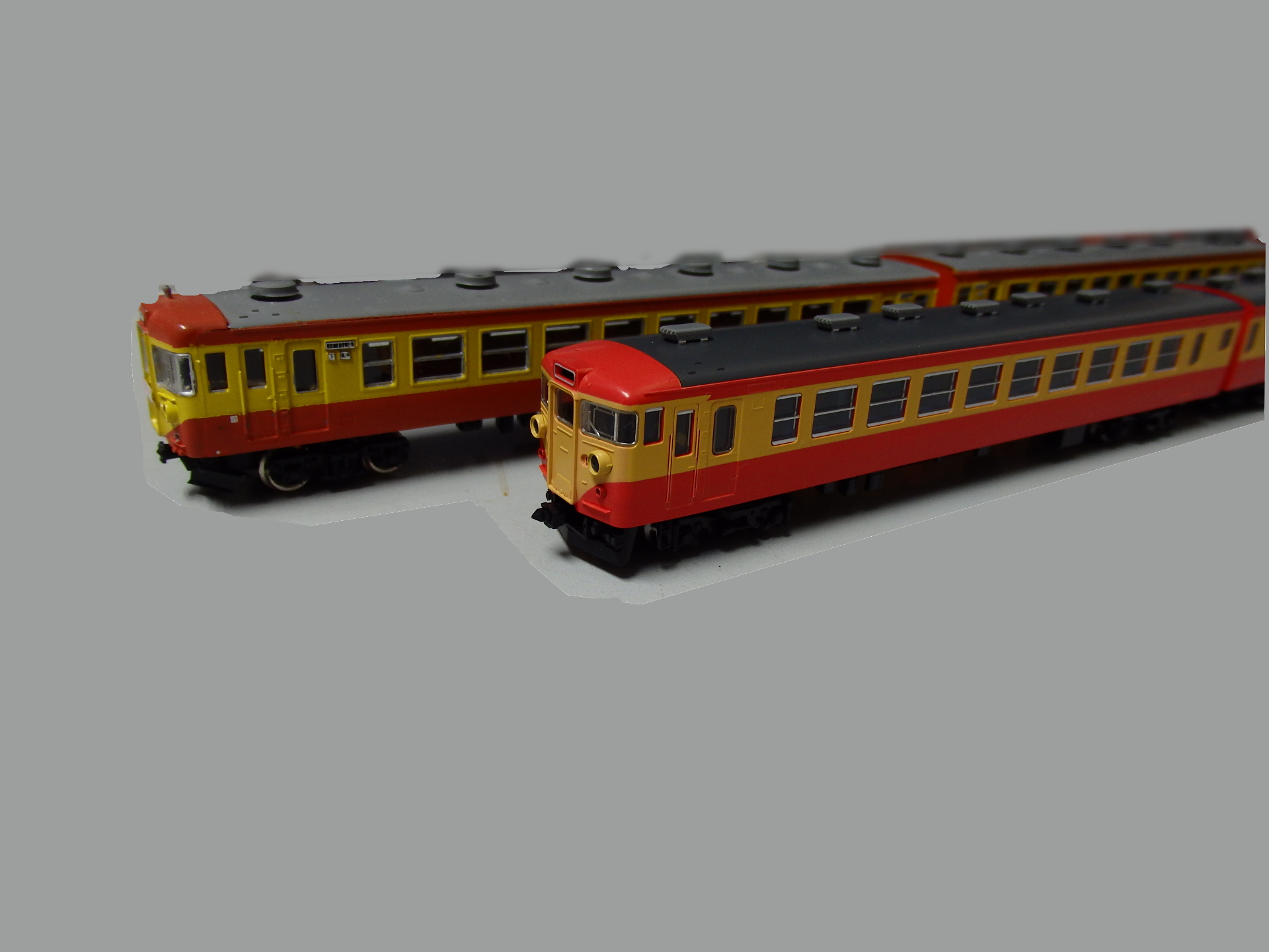 TOMIXのHGシリーズ167系修学旅行用電車です。