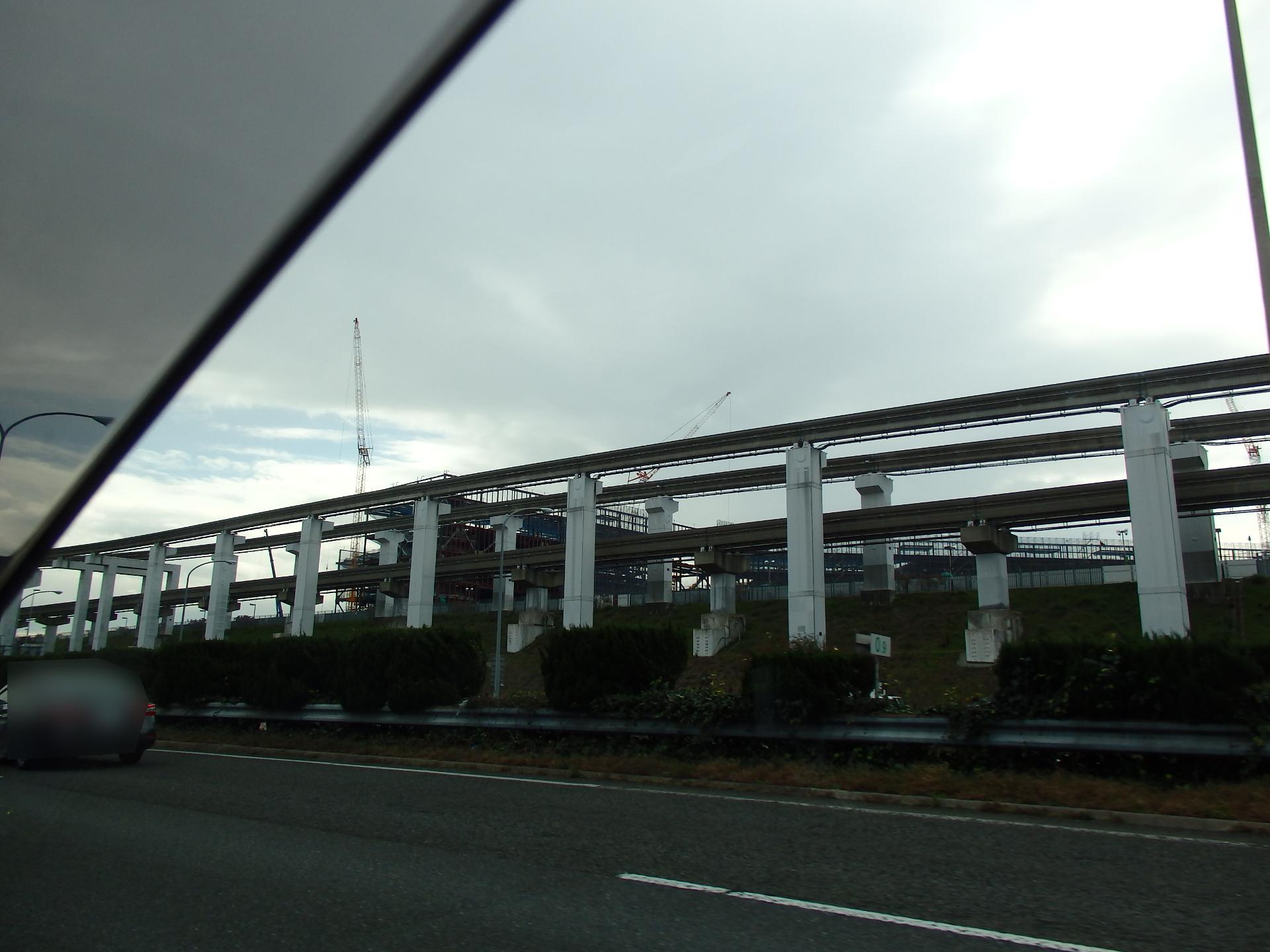 ガンバ大阪の新フランチャイズとなるサッカースタジアムの建設が進んでいます。