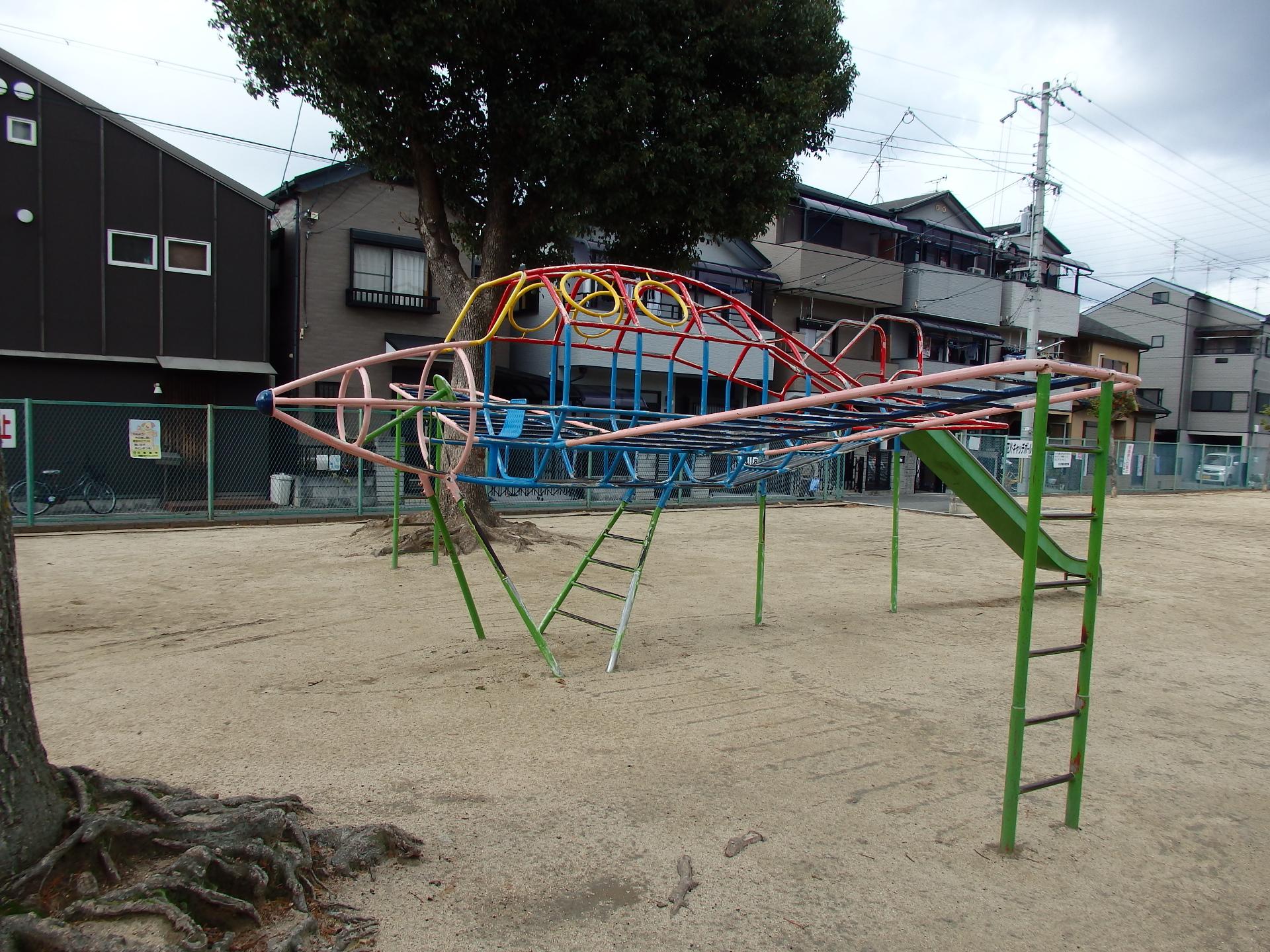 ひこうき公園です。