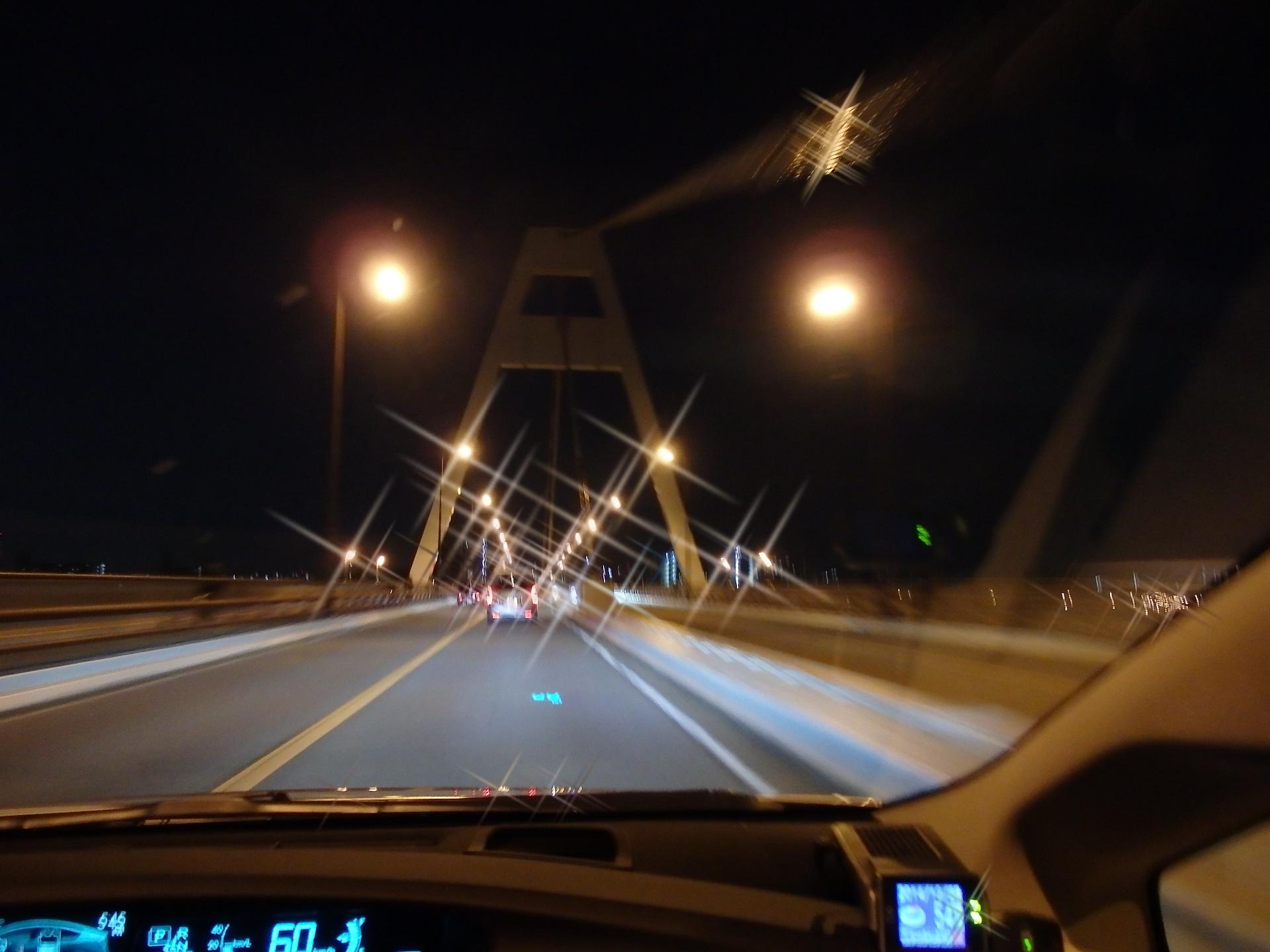 クリスマス風豊里大橋です。
