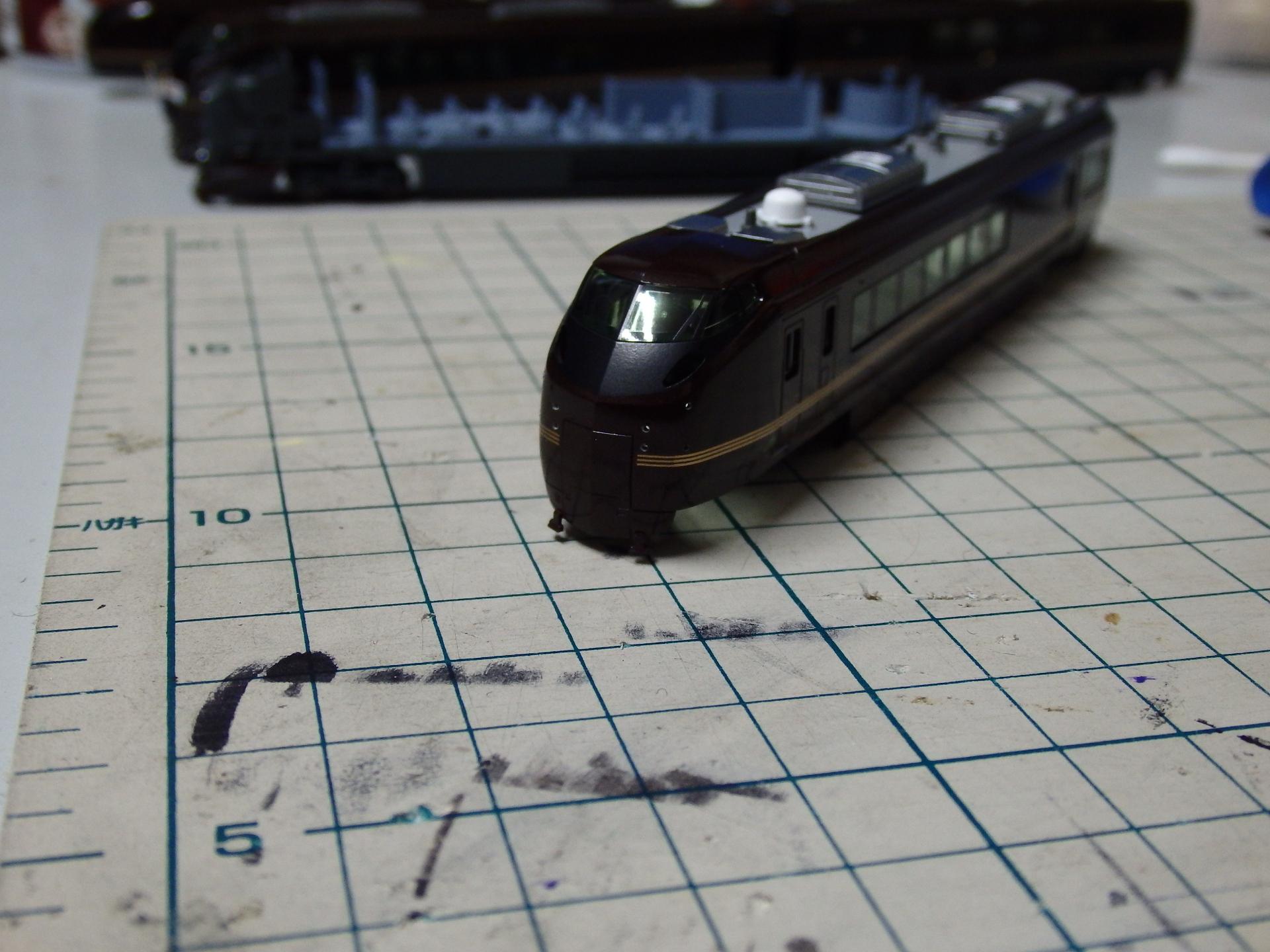クモロE654の穿孔完了。