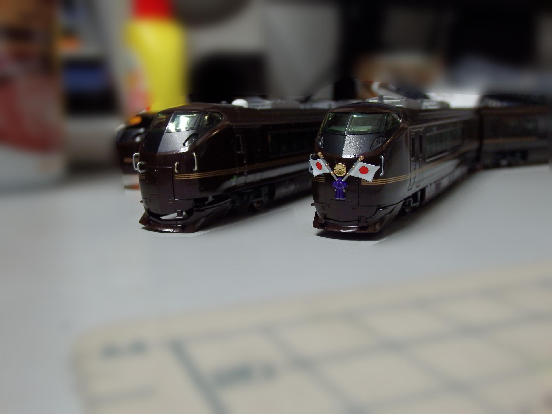 お召列車の雰囲気が出ています。