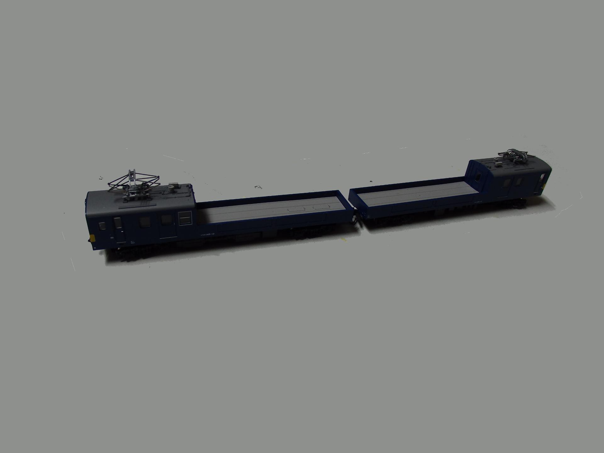 鉄道コレクション第20弾のクモル145とクル144をN化しました。