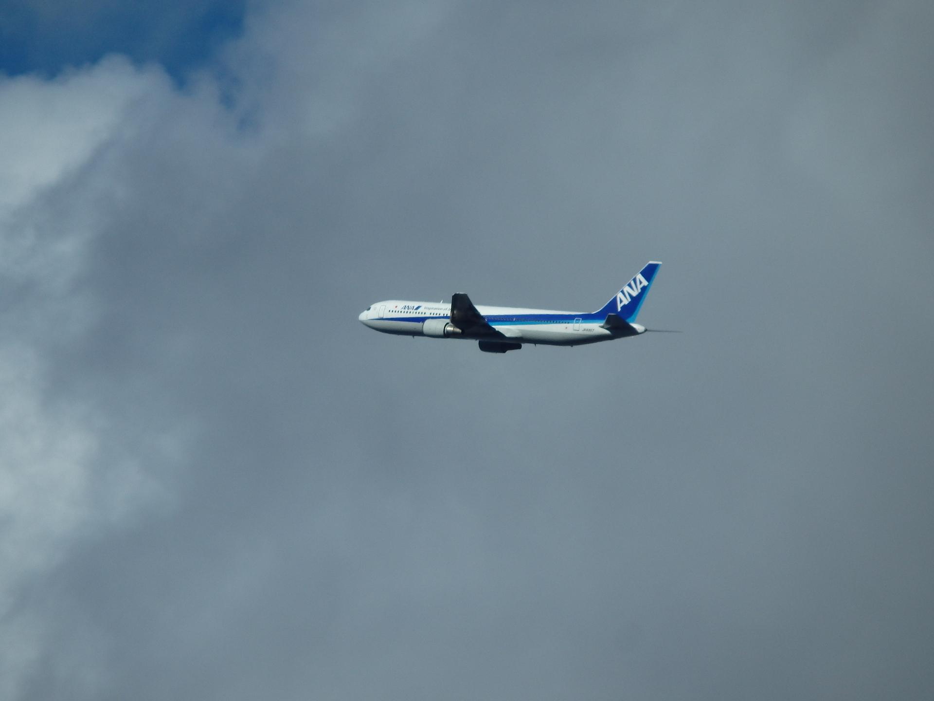 JA8357・ミス・パイロットのファーストフライト機です。